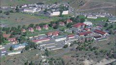 Fort Yellowstone And Park Headquarters Stock Footage