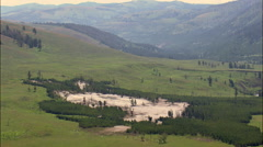 Lamar Valley Stock Footage