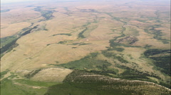 North Edge Of Custer National Forest Stock Footage