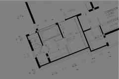 Interior Architectural background, architecture plan, construction drawing Piirros