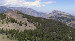 Clarks Fork Canyon Stock Footage