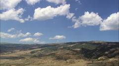 West Side Of Pryor Mountains Stock Footage