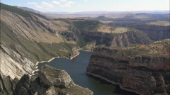 Bighorn Canyon Stock Footage