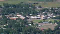 Byron aerial Stock Footage
