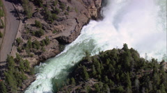 Upper Falls Stock Footage