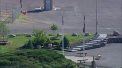 Veterans Memorial Park Stock Footage