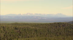 Central Plateau Near Mallard Lake Stock Footage
