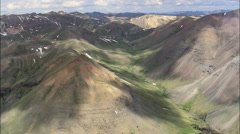 South End Of The Absaroka Range Stock Footage