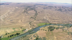 Big Horn River By Lucerne Stock Footage