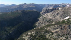 East Side Of Wind River Mountains Stock Footage