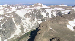 Wind River Mountains Stock Footage