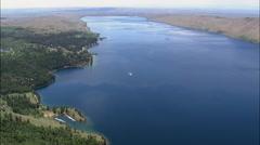 Freemont Lake Stock Footage