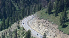 Top Of Teton Pass Stock Footage