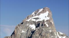 Grand Teton Mountain Stock Footage