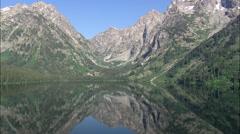 Leigh Lake Stock Footage