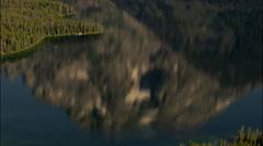 Mount Moran Stock Footage