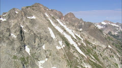 Passing Bivouac Peak Stock Footage