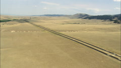 Interstate 15 To Butte Stock Footage