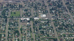 Butte aerial Stock Footage