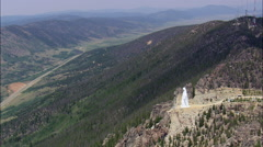 Our Lady Of The Rockies Stock Footage