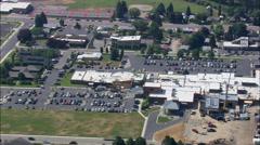 Hamilton aerial Stock Footage