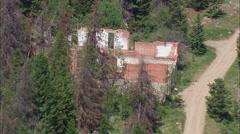 Granite Ghost Town Amd Mine Workings Stock Footage