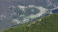 Rock Creek Lake Stock Footage