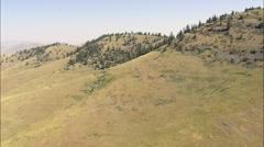 Landscape In National Bison Range Stock Footage