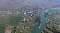 Montana Plains aerial Stock Footage