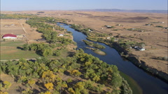 North Platte River Stock Footage