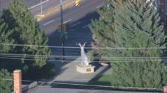 Douglas aerial Stock Footage