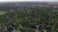 Cheyenne aerial Stock Footage