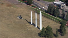 Francis E Warren Air Force Base (Strategic Missile Base) Stock Footage