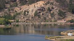 Granite Springs Reservoir Stock Footage