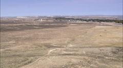 Saratoga aerial Stock Footage