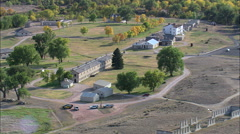 Fort Laramie Stock Footage