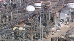 Sinclair Oil Refinery Stock Footage