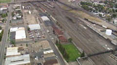Green River Train Station Stock Footage