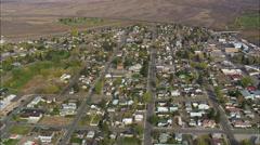 Kemmerer aerial Stock Footage