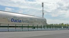 "Football stadium, ""Friuli"" in Udine Stock Footage"