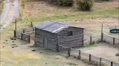 Burnt Ranch And Relay Station For Stage Coaches And Pony Express Stock Footage