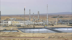 Lysite Gas Plant Stock Footage