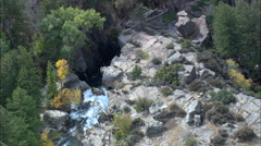 Shell Canyon Falls Stock Footage