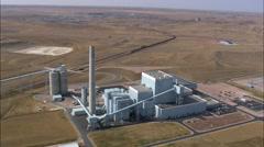 Wyodak Power Plant Stock Footage