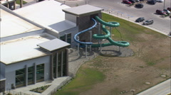 Campbell County Swimming Pool Stock Footage