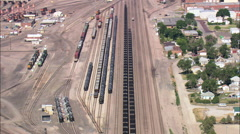 Alliance Freight Yard Stock Footage