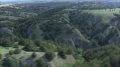 Loess Canyons Stock Footage