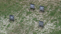 Shooting Ranges In Platte River State Park Stock Footage