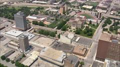 Omaha aerial Stock Footage