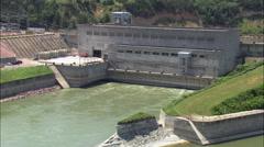 Gavins Point Dam Stock Footage